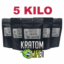 FIVE KILO (5000 grams) Kratom Powder ANY STRAINS